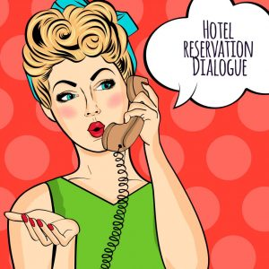 Hotel reservation Dialogue